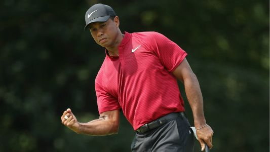 When is Tiger Woods' next tournament on the 2019 PGA Tour schedule?
