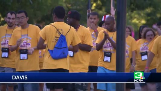 Northern California Special Olympics kick off in Davis
