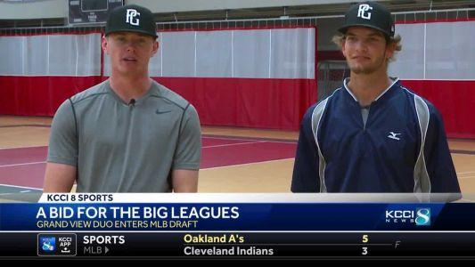 Grand View duo chases major league dream