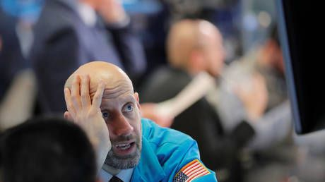 US stocks continue downward spiral as virus fears shock markets in WORST WEEK since 2008 meltdown