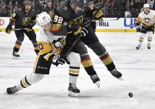 Penguins finish road trip with sloppy loss at Vegas