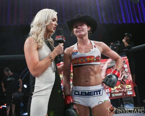 UFC on ESPN 1's Andrea Lee is trying to make up for lost time in the octagon