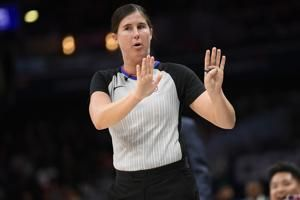 Sago, Schroeder part of NBA's first ref crew with 2 women