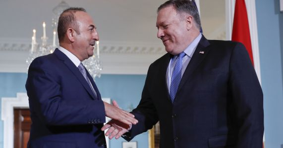 Pompeo cites 'positive momentum' in US-Turkey ties