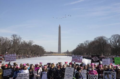 Women's Marches Draw Crowds in Cities Across the U.S