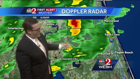 Rain to continue throughout Friday