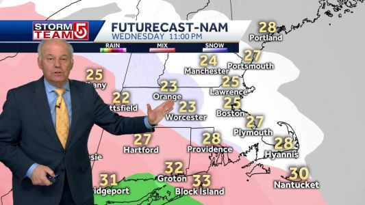 Video: Significant snow should start to moving into Mass