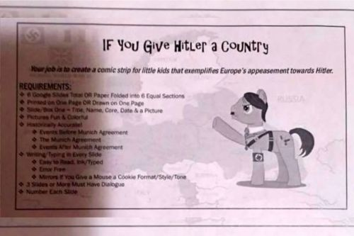 Hitler-themed homework upsets middle school students' parents