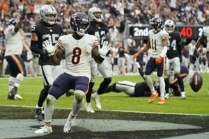 All eyes are on rookie Khalil Herbert after the Chicago Bears place running back Damien Williams on the reserve/COVID-19 list: 'Every day I come in here, I've got to be ready to go'