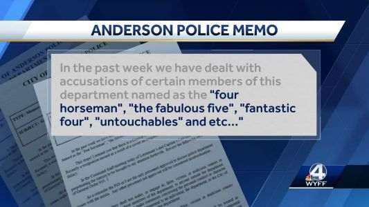 Anderson police chief addresses rumors regarding recent officer departures