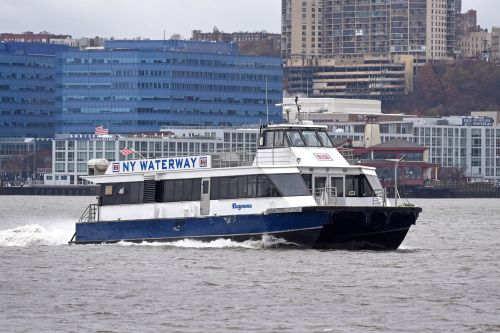 Ex-workers say NY Waterway ferries have been dumping waste in Hudson for years