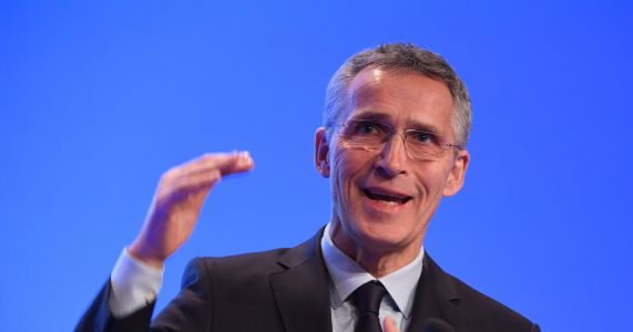 NATO chief: UN convention won't rid world of nuclear arms