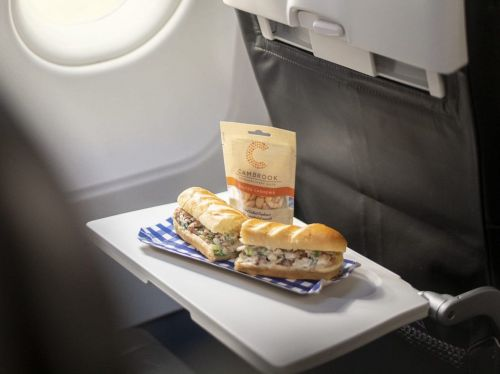 British Airways has unveiled a new menu designed by a Michelin-starred chef - see what's in the lineup