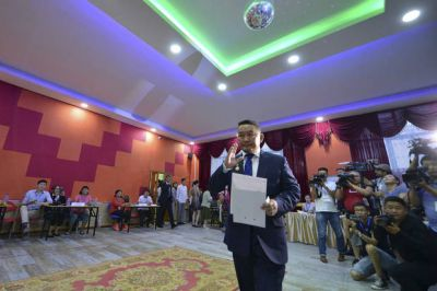 With no election winner, Mongolia sets runoff for July 9