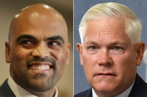 Democrat and ex-NFL player Colin Allred projected to beat longtime GOP Rep. Pete Sessions in Texas