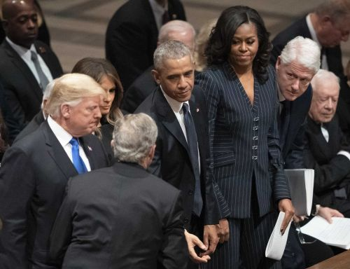 Trump shuns 'ex-presidents club' - and the feeling is mutual
