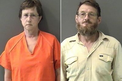 Couple arrested for forcing adoptive son to live in wooden shack