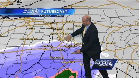 Winter weather advisory issued for Fayette, Westmoreland counties