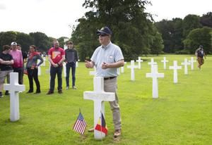 Twin brothers reunited 74 years after WWII death at Normandy