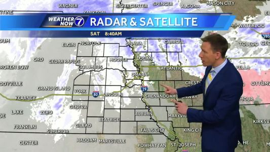 Freezing drizzle changes to snow midday Saturday, untreated roads likely icy
