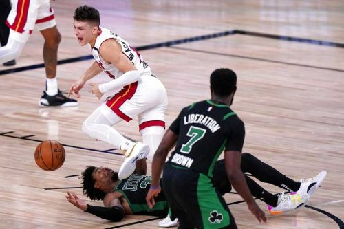 Celtics implode postgame following Game 2 loss to Heat