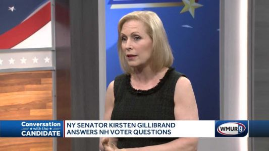 Gillibrand says she would 'restore moral leadership on world stage' if elected