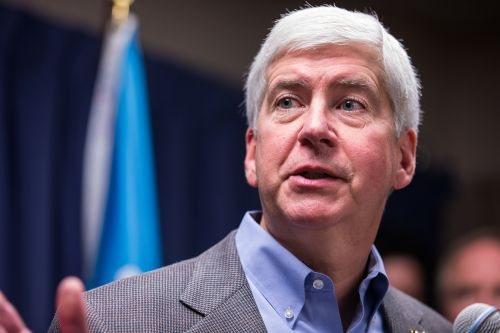 Former Michigan Gov. Rick Snyder charged in Flint water crisis