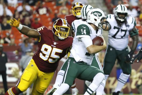 Jets are having some offensive line issues