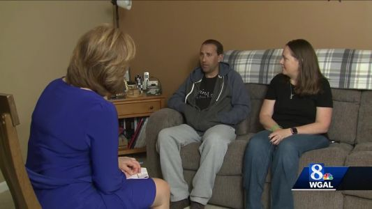 Heart transplant recipient holding party to raise awareness about need for organ donors