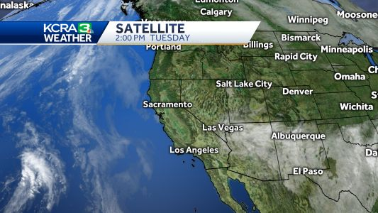 Mild days for Northern California