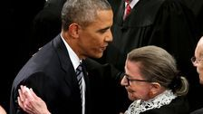 Barack Obama Pays Tribute To Ruth Bader Ginsburg: She 'Fought To The End'