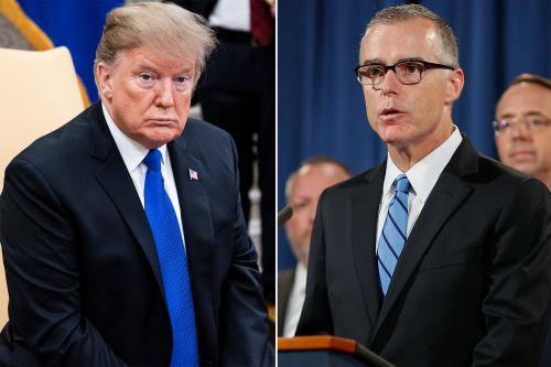 Trump called ex-FBI head McCabe's wife a 'loser' over election letdown
