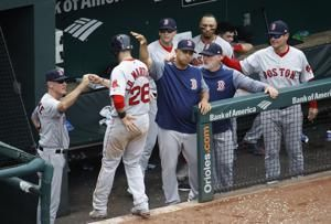 Sale dominant before ejection, and Red Sox beat Orioles 5-1
