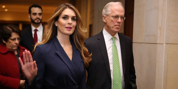 Nancy Pelosi accuses Trump of obstructing justice by ordering Hope Hicks not to answer Democrats' questions
