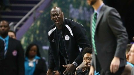 NBA icon Jordan slaps Charlotte Hornets star Monk after early celebration