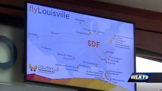 Louisville International Airport optimistic about 2021 with vaccine 'key to recovery'