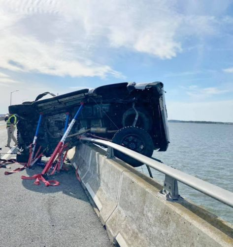 Toddler rescued from Assawoman Bay after Ocean City crash is expected to make full recovery