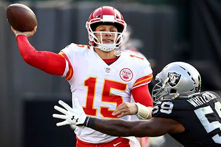 Sunday miracles put Chiefs in the AFC driver's seat