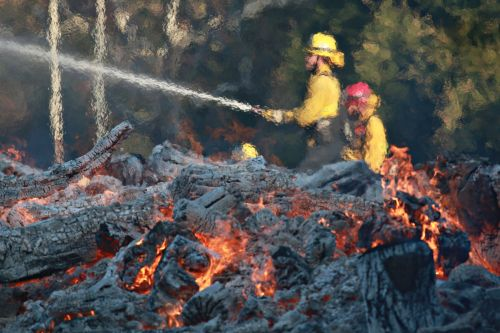 Number of missing in California wildfires lower than initially thought