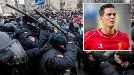There's only one Daniel Agger? Ex-Liverpool star clears up bizarre rumors he was arrested at Navalny protests in Moscow