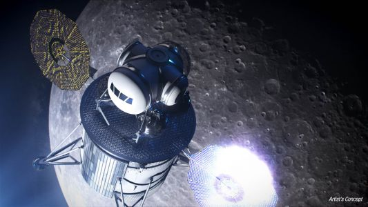NASA Awards $45.5 Million for Private Moon Lander for Work on Project Artemis