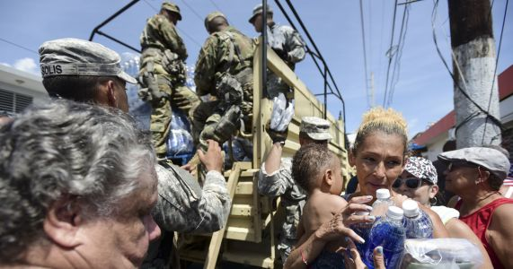 Puerto Rico is in the dark in wake of Hurricane Maria