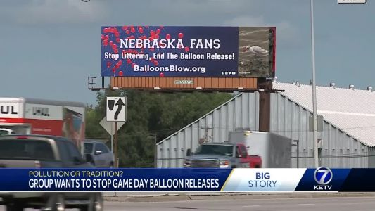Group wants to stop game day balloon releases