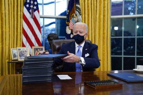 President Biden puts forth virus strategy, requires mask use to travel