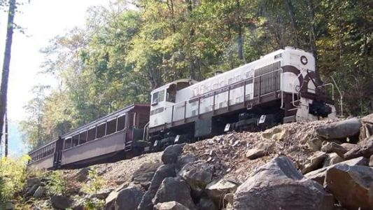 All aboard Kentucky's ghost train: Eerie ride takes you to abandoned coal town