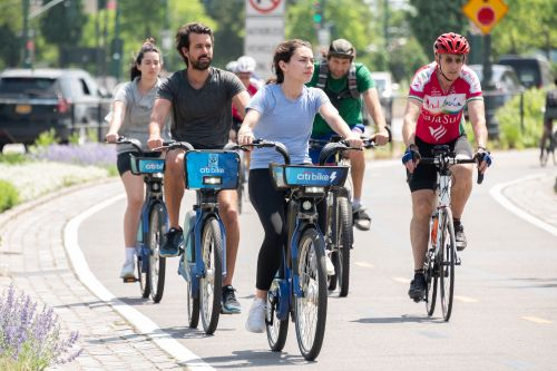 New Yorkers aren't parking their bikes after pandemic cycling surge