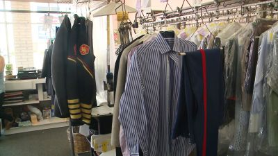 Thieves make off with thousands in dry cleaning