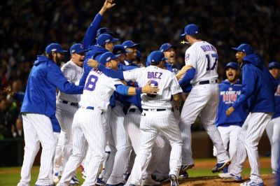 Cubs Fans Rejoice as 'Lovable Losers' Win First Pennant in 71 Years