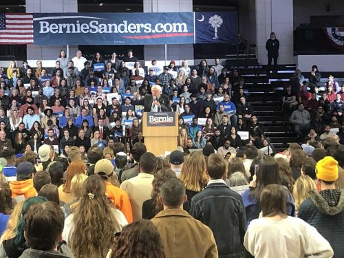 Bernie Sanders rallies in Spartanburg, hopes for highest turnout in the history of the SC Primary