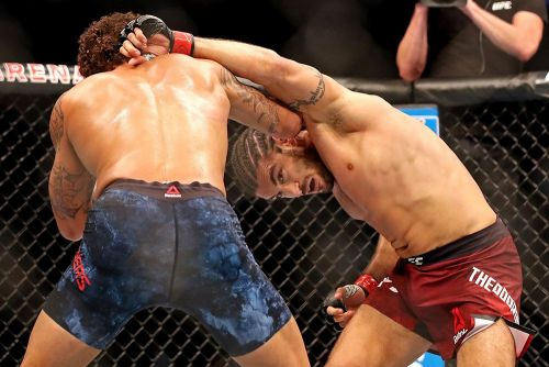 Elias Theodorou's next fight after UFC 231? Changing the 'stigma of medical cannabis'